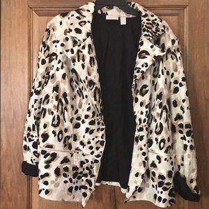 Leopard Chico's jacket